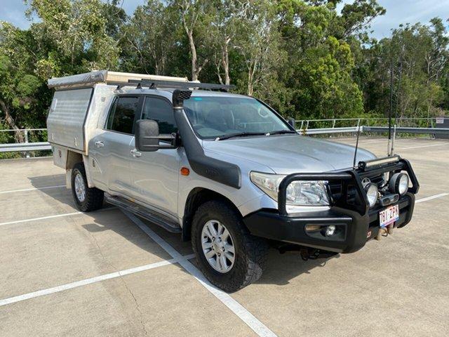 Used Toyota Landcruiser VDJ200R GXL (4x4) Morayfield, 2008 Toyota Landcruiser VDJ200R GXL (4x4) Silver 6 Speed Automatic Wagon