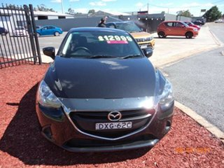 2015 Mazda 2 DJ Neo Black Metallic 6 Speed Automatic Hatchback.