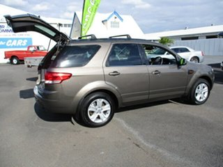 2012 Ford Territory SZ Brown 4 Speed Automatic Wagon.