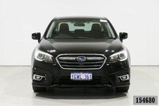 2019 Subaru Liberty MY19 2.5I Black Continuous Variable Sedan.