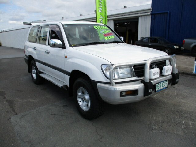 Used Toyota Landcruiser Woodridge, 1998 Toyota Landcruiser White 4 Speed Automatic Wagon