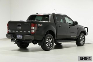 2017 Ford Ranger PX MkII MY17 Update Wildtrak 3.2 (4x4) Black 6 Speed Automatic Dual Cab Pick-up