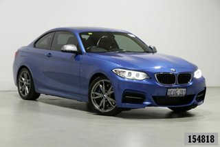 2015 BMW M235i F22 MY15 Blue 8 Speed Automatic Coupe.