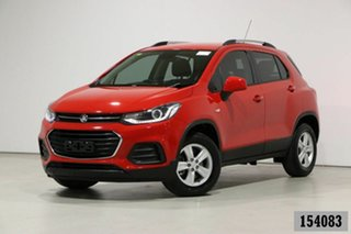 2017 Holden Trax TJ MY17 LS Red 5 Speed Manual Wagon.