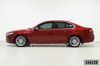 2015 Ford Falcon FG X G6E Burgundy 6 Speed Automatic Sedan