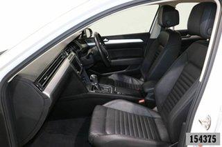2016 Volkswagen Passat 3C MY16 132 TSI Comfortline White 7 Speed Auto Direct Shift Sedan