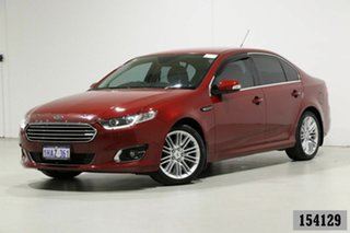 2015 Ford Falcon FG X G6E Burgundy 6 Speed Automatic Sedan.