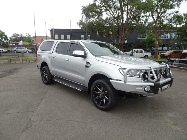 Used Ford Ranger PX MkII XLT Double Cab Nowra, 2017 Ford Ranger PX MkII XLT Double Cab Silver 6 Speed Sports Automatic Utility