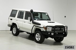2020 Toyota Landcruiser 70 Series VDJ76R GXL White 5 Speed Manual Wagon