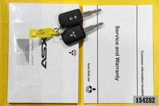 2019 Mitsubishi ASX XC MY19 ES (2WD) Silver Continuous Variable Wagon