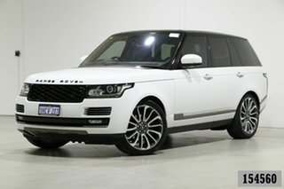 2016 Land Rover Range Rover LG MY16 Autobiography SDV8 White 8 Speed Automatic Wagon.