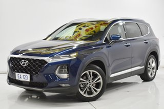 2018 Hyundai Santa Fe DM5 MY18 Highlander Blue 6 Speed Sports Automatic Wagon.