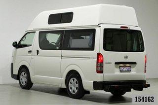 2016 Toyota HiAce TRH201R MY16 LWB White 5 Speed Manual Van