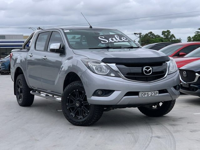 Used Mazda BT-50 UR0YG1 XTR Liverpool, 2017 Mazda BT-50 UR0YG1 XTR Silver 6 Speed Sports Automatic Utility