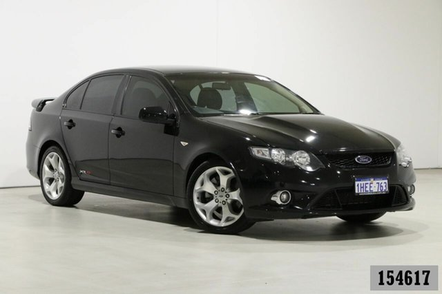 Used Ford Falcon FG XR8 Bentley, 2008 Ford Falcon FG XR8 Black 6 Speed Auto Seq Sportshift Sedan