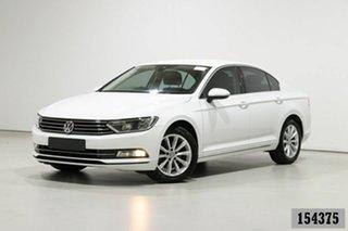 2016 Volkswagen Passat 3C MY16 132 TSI Comfortline White 7 Speed Auto Direct Shift Sedan.