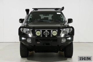 2016 Toyota Landcruiser Prado GDJ150R MY16 Kakadu (4x4) Black 6 Speed Automatic Wagon.
