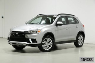 2019 Mitsubishi ASX XC MY19 ES (2WD) Silver Continuous Variable Wagon.