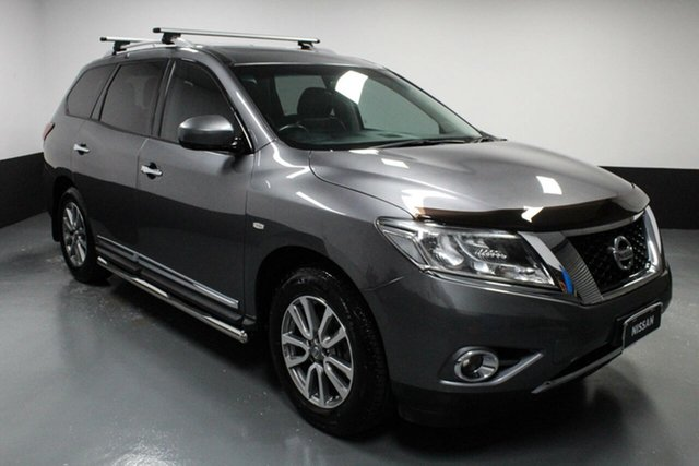 Used Nissan Pathfinder R52 Series II MY17 ST-L X-tronic 2WD Cardiff, 2016 Nissan Pathfinder R52 Series II MY17 ST-L X-tronic 2WD Grey 1 Speed Constant Variable Wagon