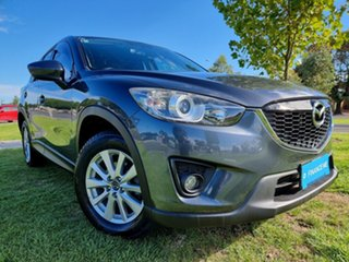 2012 Mazda CX-5 KE1021 Maxx SKYACTIV-Drive AWD Sport Grey 6 Speed Sports Automatic Wagon.