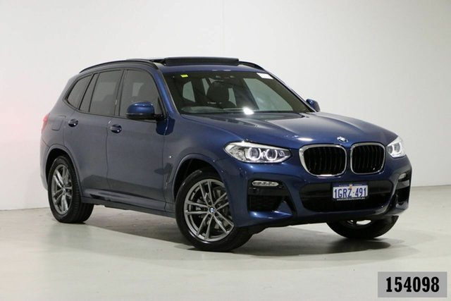 Used BMW X3 G01 xDrive20d M Sport Bentley, 2019 BMW X3 G01 xDrive20d M Sport Blue 8 Speed Automatic Wagon