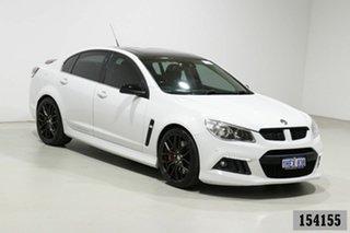 2014 Holden Special Vehicles ClubSport Gen F R8 White 6 Speed Auto Active Sequential Sedan