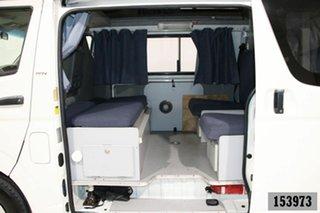 2009 Toyota HiAce TRH201R MY07 Upgrade LWB White 5 Speed Manual Van