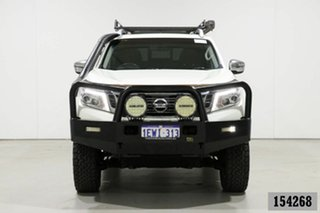 2015 Nissan Navara NP300 D23 ST-X (4x4) White 7 Speed Automatic Dual Cab Utility.