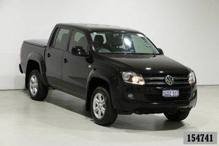 2016 Volkswagen Amarok 2H MY16 TDI420 Trendline (4x4) Black 8 Speed Automatic Dual Cab Utility