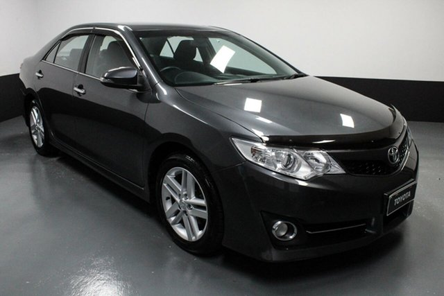 Used Toyota Camry ASV50R Atara S Hamilton, 2014 Toyota Camry ASV50R Atara S Grey 6 Speed Sports Automatic Sedan