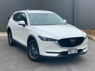2020 Mazda CX-5 KF4W2A Maxx SKYACTIV-Drive i-ACTIV AWD Sport Snowflake White 6 Speed.