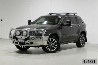 2018 Jeep Grand Cherokee WK MY18 Overland (4x4) Grey 8 Speed Automatic Wagon.
