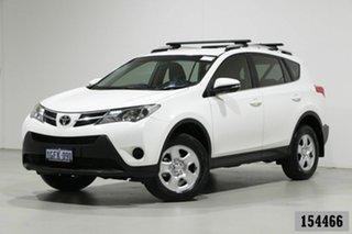 2015 Toyota RAV4 ASA44R MY16 GX (4x4) White 6 Speed Automatic Wagon.