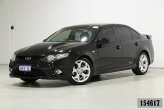 2008 Ford Falcon FG XR8 Black 6 Speed Auto Seq Sportshift Sedan.