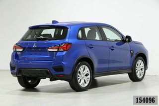 2019 Mitsubishi ASX XD MY20 ES (2WD) Blue Continuous Variable Wagon