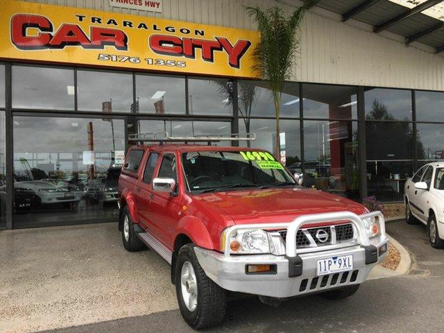 Used Nissan Navara D22 ST-R (4x4) Traralgon, 2006 Nissan Navara D22 ST-R (4x4) Red 5 Speed Manual Dual Cab Pick-up