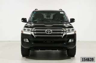 2019 Toyota Landcruiser VDJ200R LC200 GXL (4x4) Black 6 Speed Automatic Wagon.