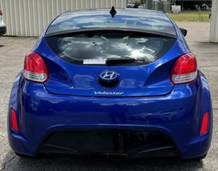 2012 Hyundai Veloster FS2 + Coupe Blue 6 Speed Manual Hatchback.