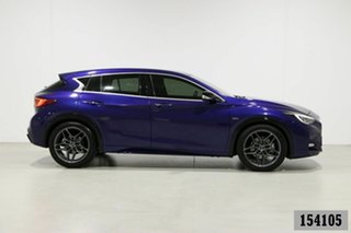 2016 Infiniti Q30 H15 Sport 2.0T Blue 7 Speed Auto Dual Clutch Hatchback