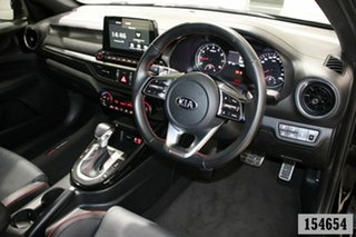 2019 Kia Cerato BD MY19 GT Safety Pack Black 7 Speed Auto Dual Clutch Sedan
