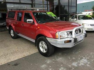 2006 Nissan Navara D22 ST-R (4x4) Red 5 Speed Manual Dual Cab Pick-up