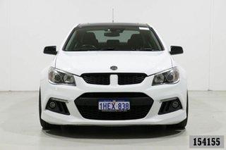 2014 Holden Special Vehicles ClubSport Gen F R8 White 6 Speed Auto Active Sequential Sedan.