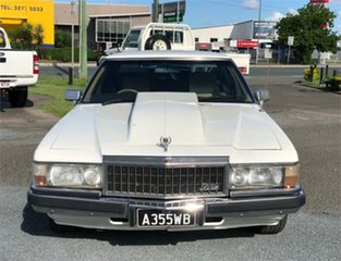 1982 Holden Statesman WB De Ville White 3 Speed Automatic Sedan