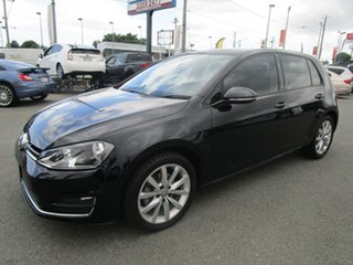 2015 Volkswagen Golf VII MY16 110TSI DSG Highline Black 7 Speed Sports Automatic Dual Clutch.