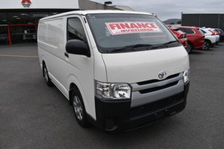 2018 Toyota HiAce TRH201R LWB White 6 Speed Automatic Van.