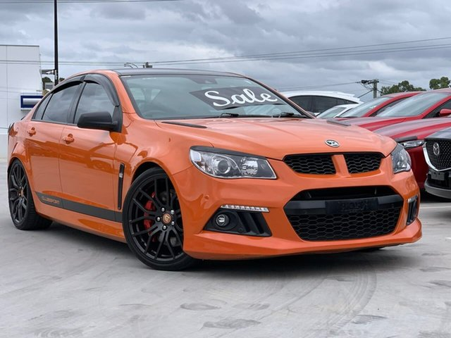 Used Holden Special Vehicles ClubSport Gen-F MY14 R8 Liverpool, 2013 Holden Special Vehicles ClubSport Gen-F MY14 R8 Orange 6 Speed Manual Sedan