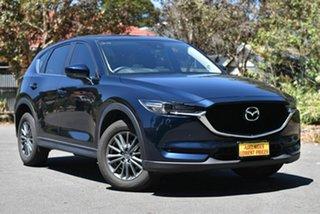 2018 Mazda CX-5 KF4WLA Touring SKYACTIV-Drive i-ACTIV AWD Blue 6 Speed Sports Automatic Wagon.