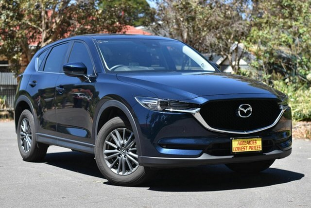Used Mazda CX-5 KF4WLA Touring SKYACTIV-Drive i-ACTIV AWD Melrose Park, 2018 Mazda CX-5 KF4WLA Touring SKYACTIV-Drive i-ACTIV AWD Blue 6 Speed Sports Automatic Wagon