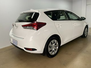 2016 Toyota Corolla ZRE182R MY15 Ascent White 7 Speed CVT Auto Sequential Hatchback.