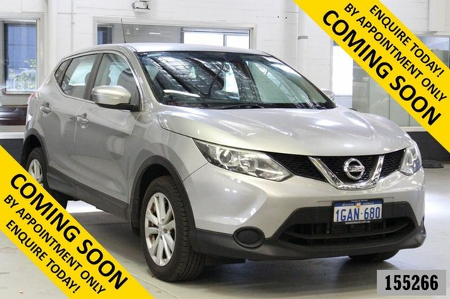 Used Nissan Qashqai J11 ST Bentley, 2014 Nissan Qashqai J11 ST Silver Continuous Variable Wagon